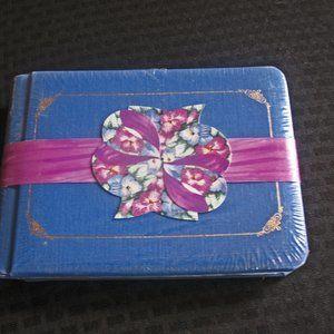 NEW Creative Memories 5 x 7~Medium Blue, Gift bow